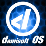 damisoft linux 18 os cover icon