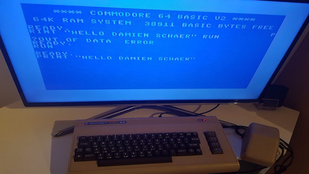 damisoft c64 home Test Commodore Power on Screen HD