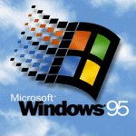 windows 95 deutsch cover logo icon microsoft damisoft