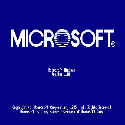 Microsoft Windows 1.0 Logo Cover Icon Damisoft 2021