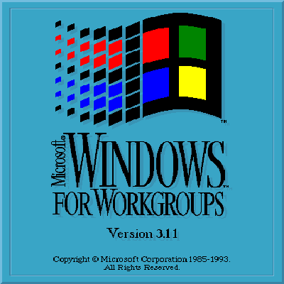 Windows logo Version 3.11 Microsoft Cover Icon Damisoft