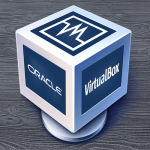 oracle virtual box logo icon symbol button damisoft