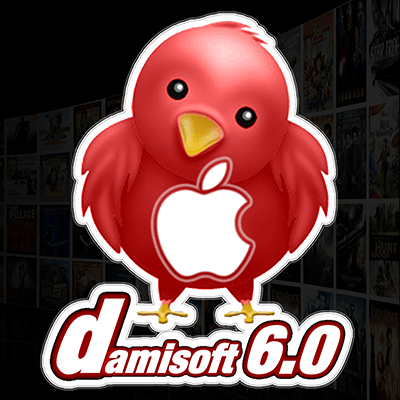 Icon Damisoft Apple TV IOS Logo Media Streaming