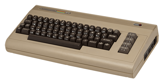 Commodore C64 System Computer Brotkasten