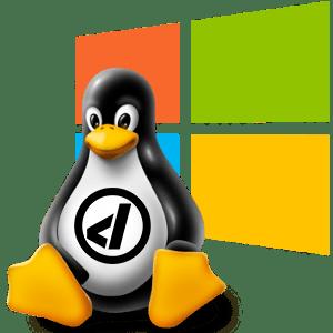 tux damisoft linux pinguin logo microsoft windows emu