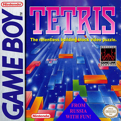 Tetris Game Boy Cover Icon Logo Damisoft Nintendo Spiel