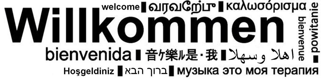 Willkommen Bild Damisoft Sprachen Startbild bienvenida welcome powitanie