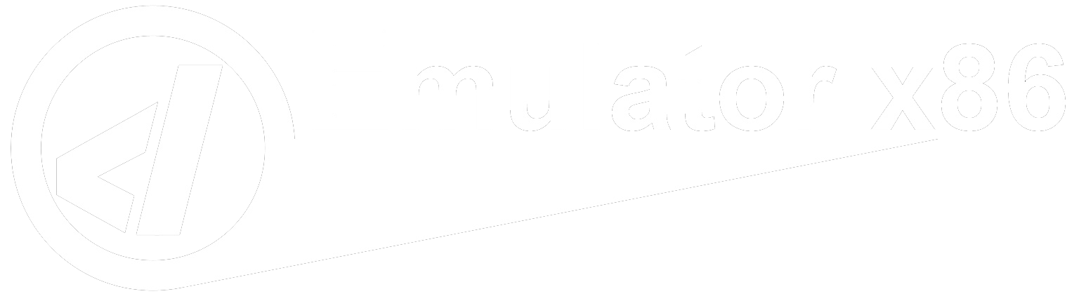 Logo Emulator x86 Transparenz PNG Damisoft Web 2021