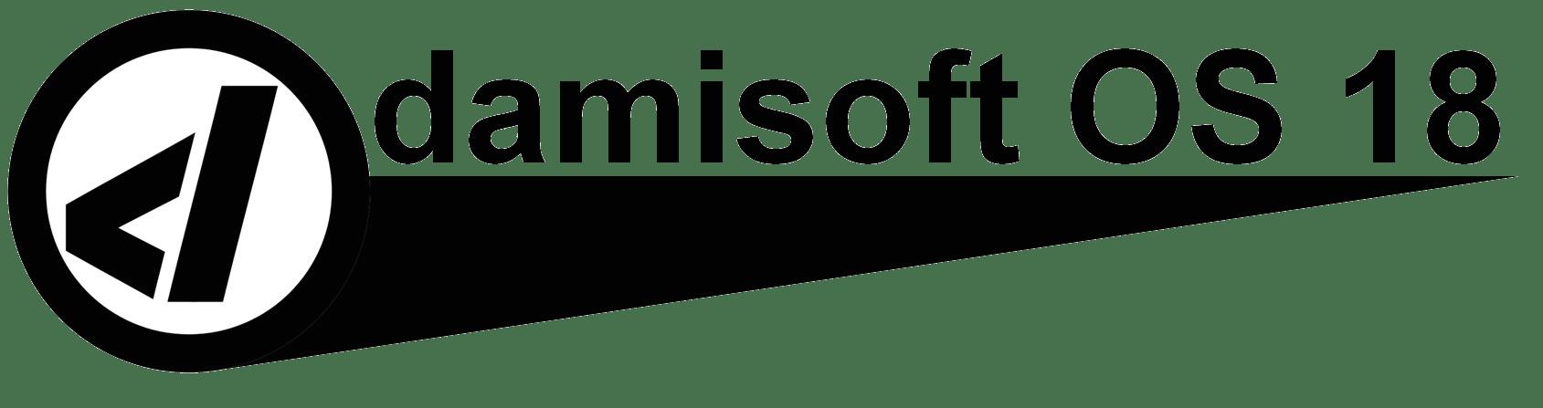 damisoft OS 18 Linux Live Original Logo 2021