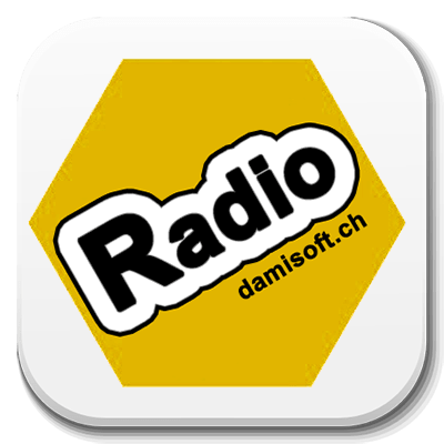 Android Radio App Damisoft Icon Logo Live Button