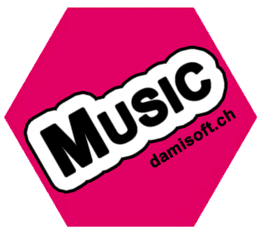 Music App Android Smartphone Tablet Icon Damisoft Logo