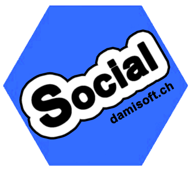 Damisocial Icon App Download Android Device social Logo